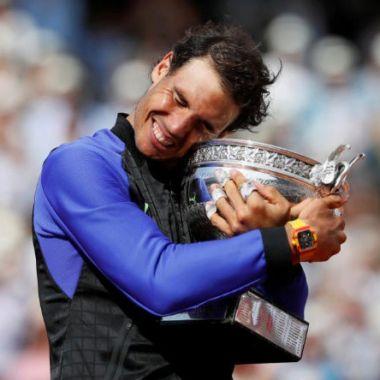 Rafael Nadal Roland Garros Estatua Leyenda