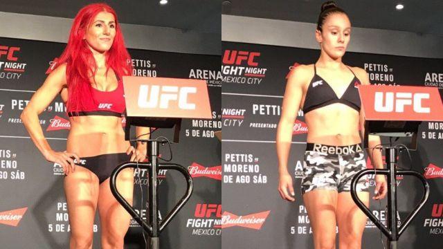 Alexa Grasso UFC Ciudad de México Dónde verlo pesaje Transmisión