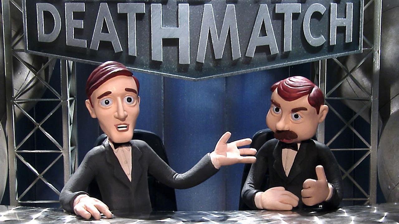 MTV Celebrity Deathmatch Lucha Libre WWE Nick Johnny
