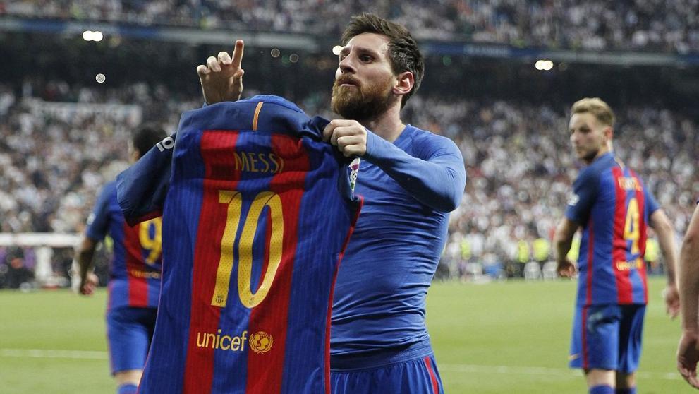 Cristiano Ronaldo, Barcelona, Real Madrid, Supercopa España, festejo, Lionel Messi
