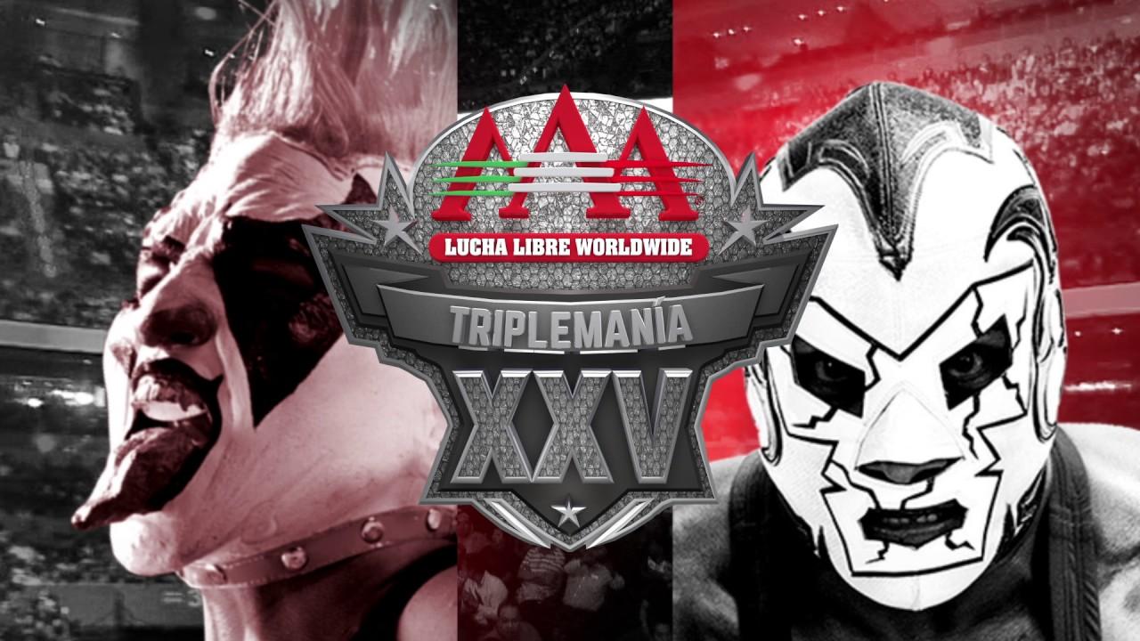 Triple A Cinturón conmemorativo Triplemanía XXV Dr. Wagner Psycho Clown