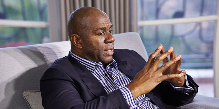 Magic Johnson, Samuel L. Jackson, inmigrantes, racismo, basquetbol, NBA