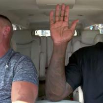 John Cena Shaquille DC Comics Carpool Karaoke Shazam