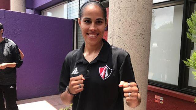 Atlas, Femenil, Marcela Varela, boxeo, combina, deportes, Guadalajara, mundial de box, futbol