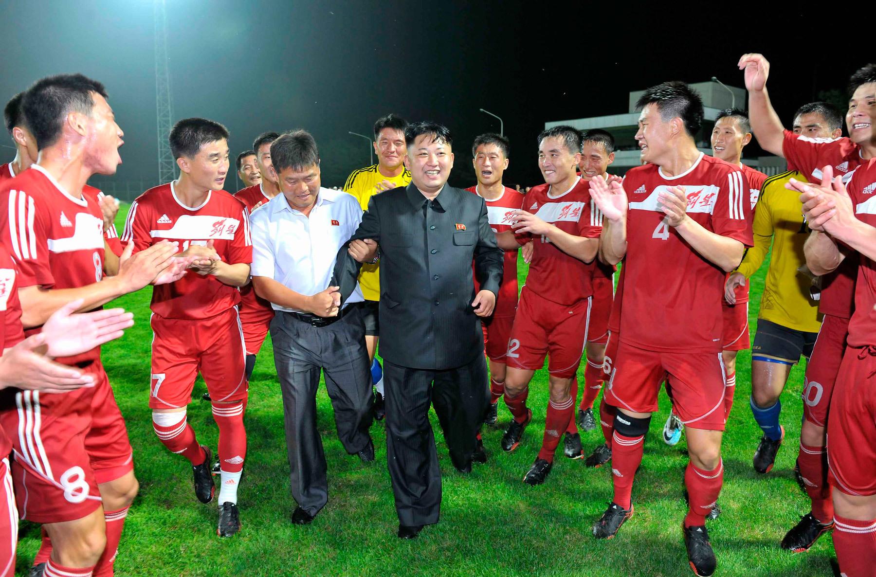 Kim Jung-Un Corea del Norte Manchester United futbol líder de Corea