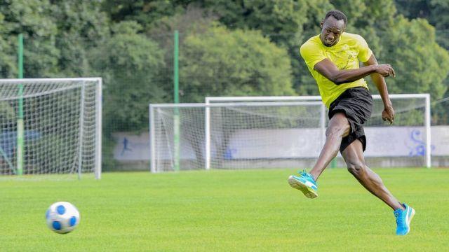 Borussia Dortmund Usain Bolt jugador futbolista Manchester United