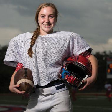 Claire Jeffress pateadora reina high school