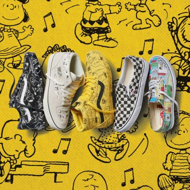 Snoopy Charlie Brown Vans tenis ropa playeras