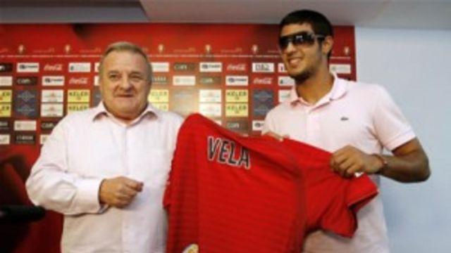Carlos Vela, 10 años, primer gol, Osasuna, España, La Liga, caño, Sergio Ramos