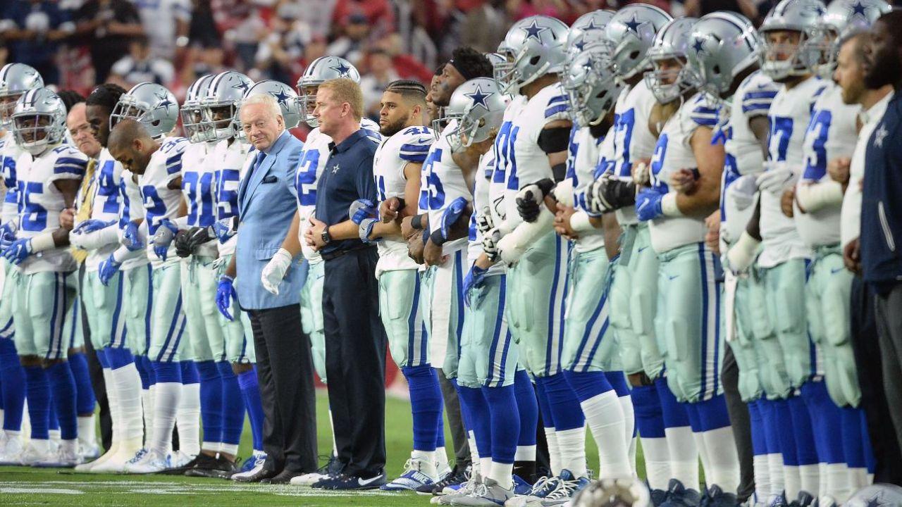 Jerry Jones Cowboys protestas himno Dallas San Francisco