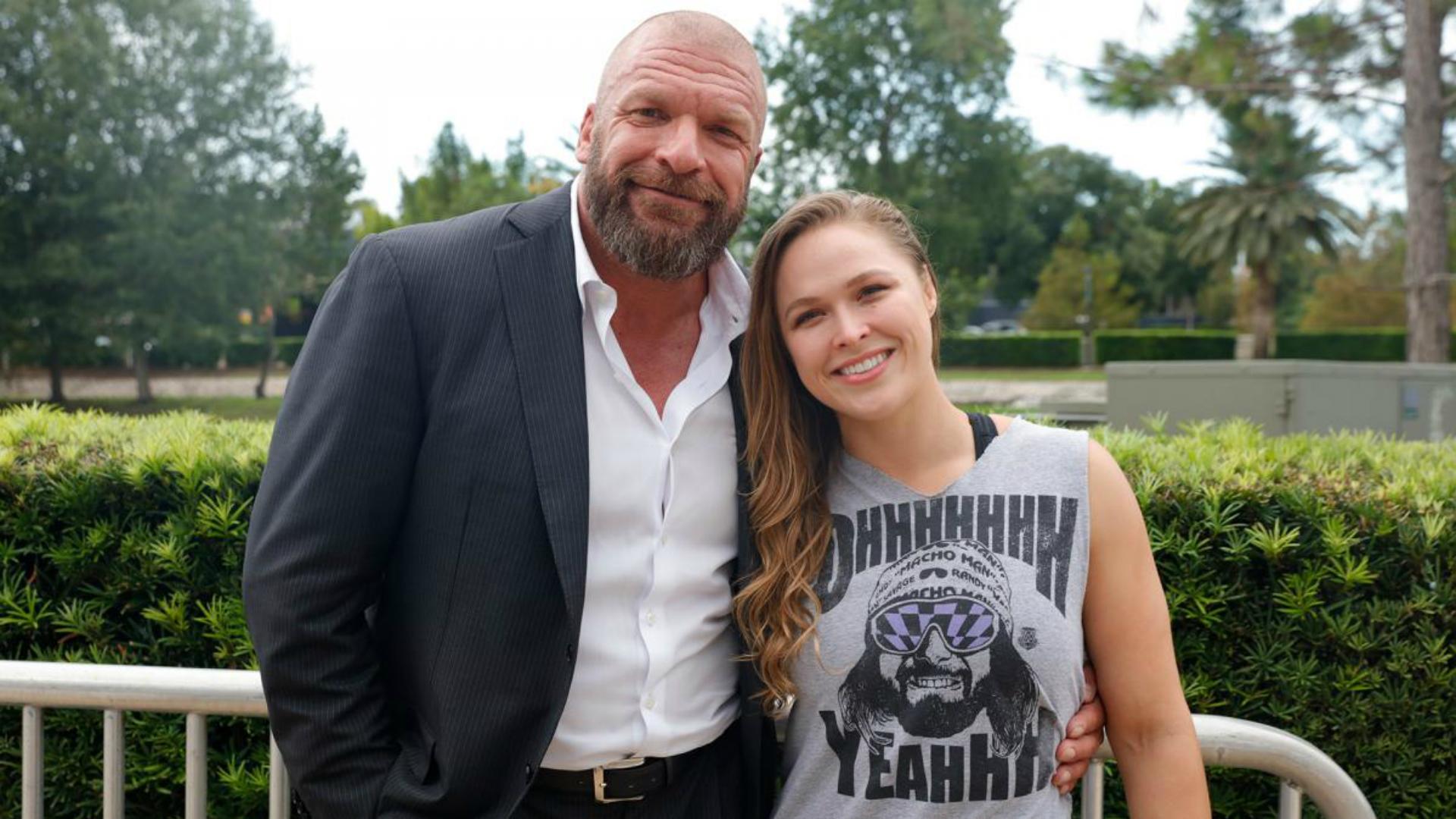 WWE Ronda Rousey Triple H Confirmado Charlotte Flair