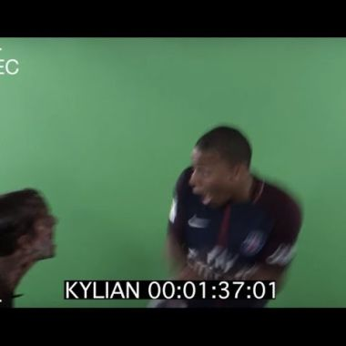 Broma PSG video halloween París Saint Germain Mbappe