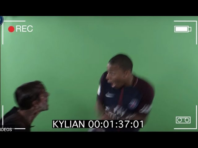 Broma PSG video halloween París Saint Germain Mbappe