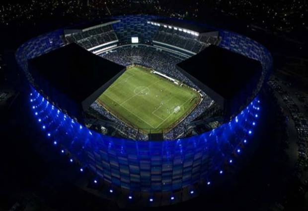 Estadio Cuauhtémoc Lleno Puebla Lobos Clásico