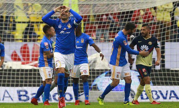 Tigres América Semifinal goles Liga MX Apertura 2017