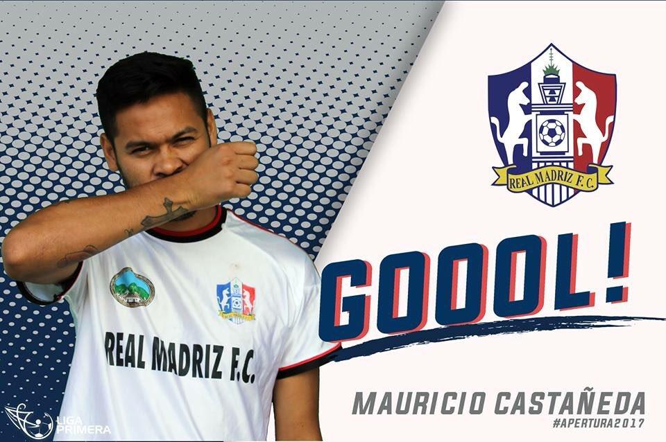 Mauricio Castañeda, campeón de goleo, Nicaragua, Real Madriz, futbol, Centroamérica, delanteros, Ascenso MX