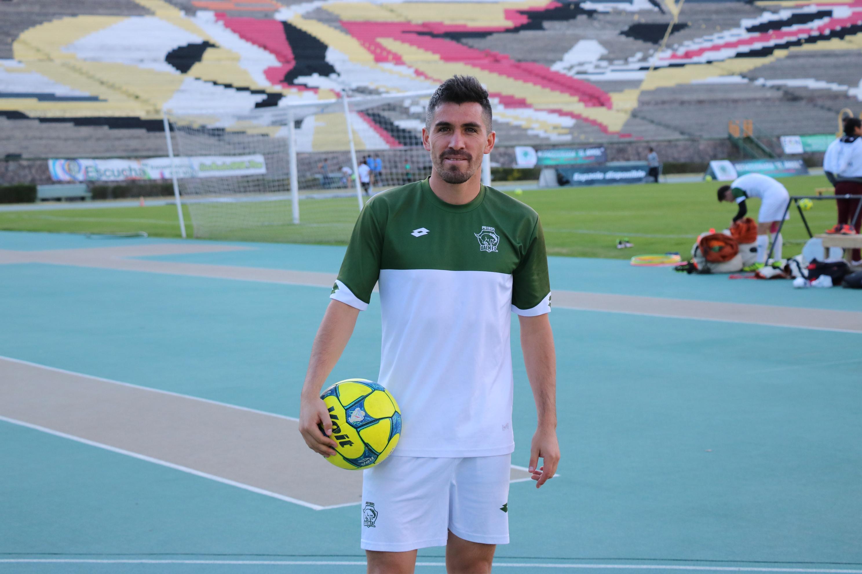Francisco Pizarro Potros UAEM Moisés Britos Asociación de Futbolistas Omar Ramírez