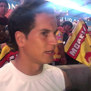 Sebastián Sosa, Monarcas, encuentra, fan, playera, niño, convivencia, intercambio de playeras