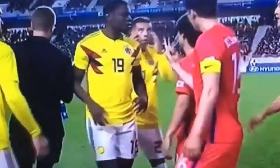 Edwin Cardona, suspendido, FIFA, acto discriminatorio, Colombia, Corea del Sur, partido amistoso, burlarse, ojos rasgados