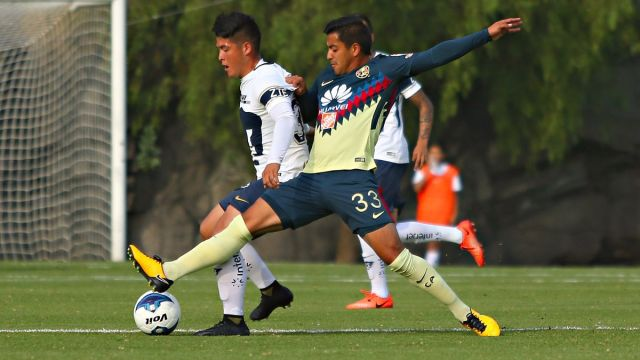 América Pumas Liga Premier Jorge Arroniz Escupitajo