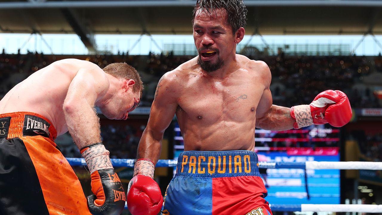Pacquiao McGregor pelea UFC Dana White abril 2018 Jeff Horn