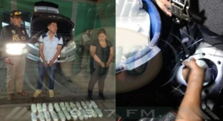 Gerente de club, Chile, arrestado, con marihuana, 13 kilos, club San Marcos de Arica, Segunda división, futbol de Chile, Samuel Moreno, escondí, droga, tanque de gasolina