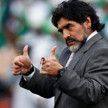 Diego Armando Maradona, Maradona, 10, Argentina, manda mensaje, navidad, aficionados, previo cena, 24 diciembre