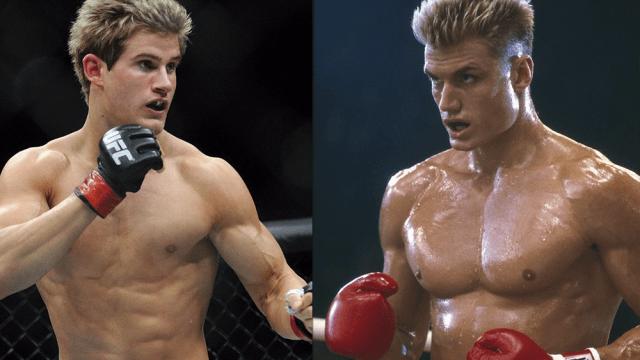 UFC Rocky Creed 2 Sage Northcutt Ivan Drago Dolph Lundgren