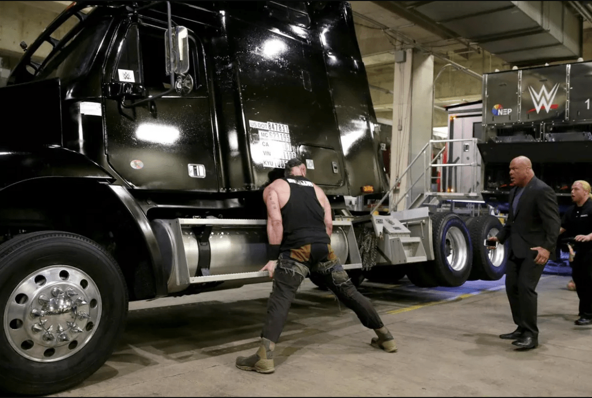 Braun Strowman WWE RAW video trailer Big Show