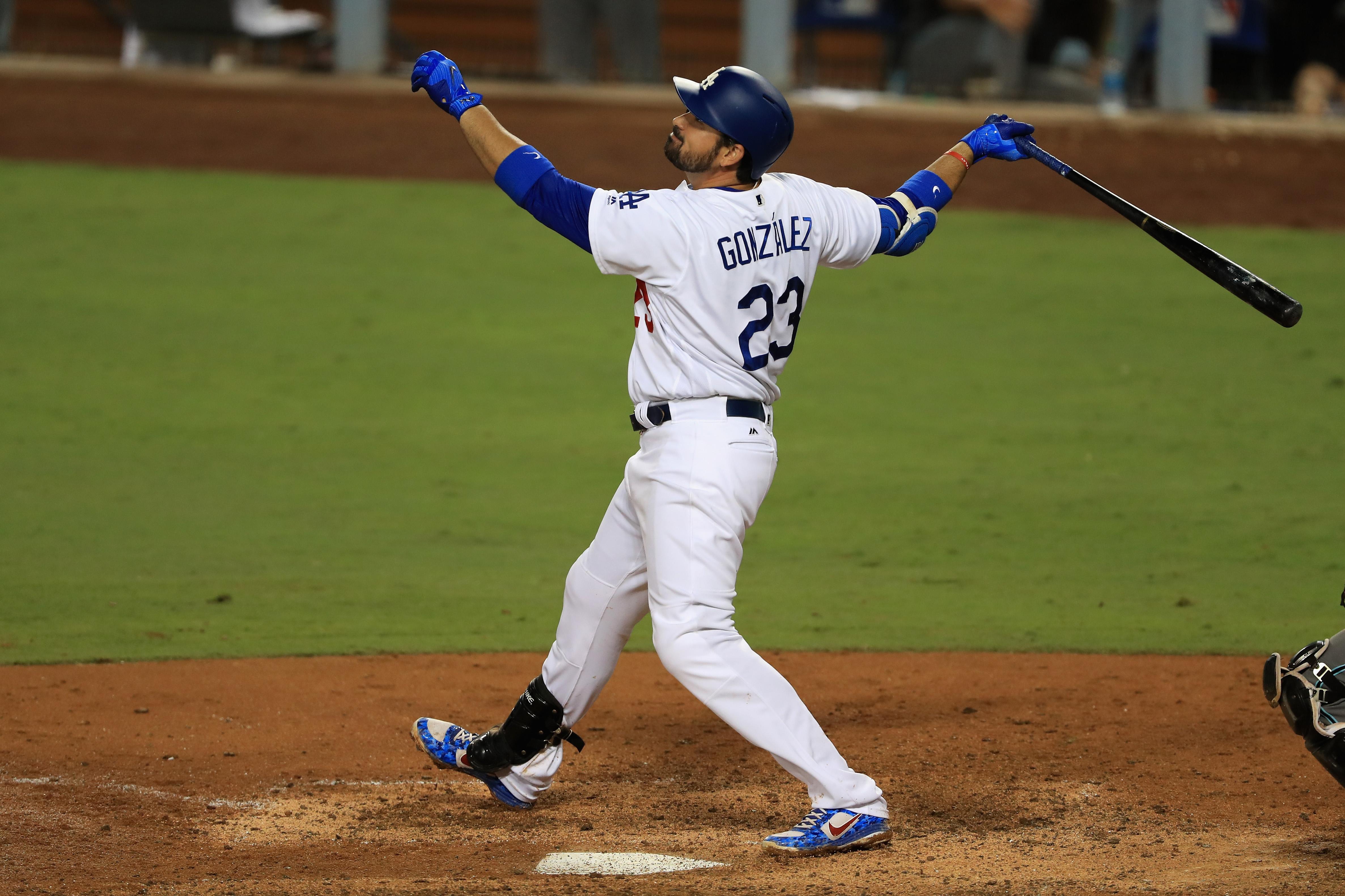 Adrián González Dodgers Mets Braves Titán González mexicanos en las grandes ligas mlb adrián titán gonzález bravos