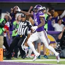 A que hora Eagles Vikings transmisión Philadelphia Minnesota