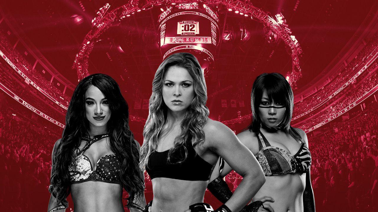 WWE Royal Rumble Femenil McMahon Rousey cartelera