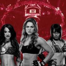 WWE Royal Rumble Femenil McMahon Rousey cartelera