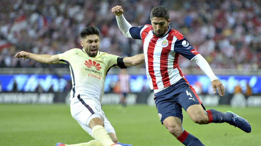Chivas vs América Oribe y Pereira