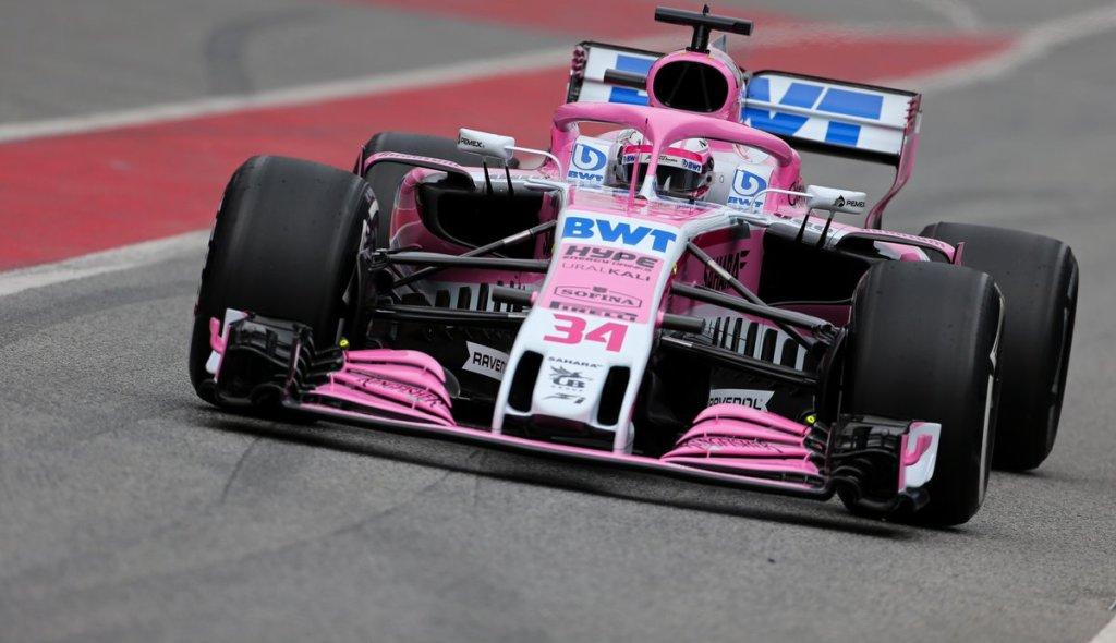 PEMEX, Petróleos mexicanos, Force India, Fórmula 1, Checo Pérez, Relación comercial, Empresa mexicana, Emblema en espejos, Trajes