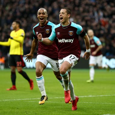 West Ham Chicharito Hernández David Moyes