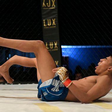 Irving Amaya Fractura Lux Fight League CDMX