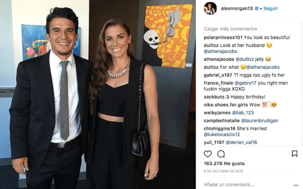 Servando Carrasco Alex Morgan MLS LA Galaxy MLS