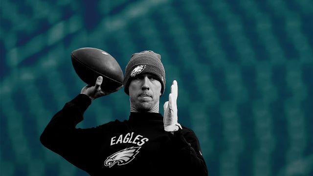 Nick Foles, mariscal, Suplente, eterno, Philadelphia, Eagles, NFL, Super Bowl LII, vida, padre religioso, despedido