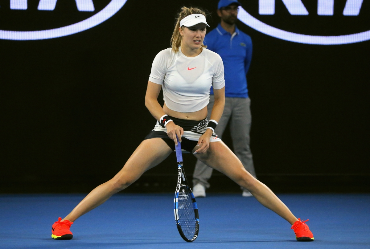 Eugenie Bouchard perdiendo patrocinadores tenista WTA Nike Colgate