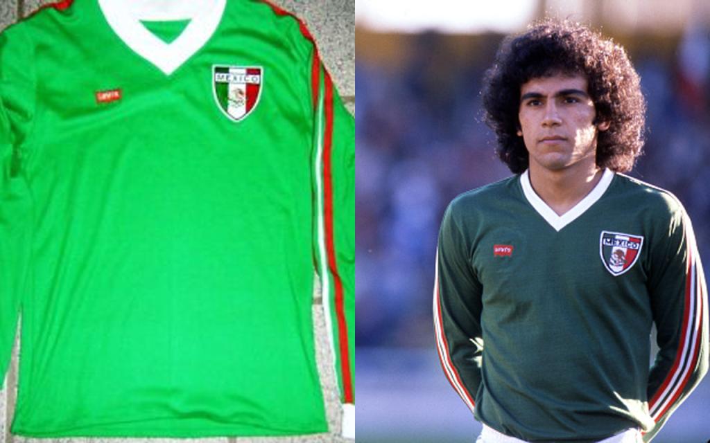 Playeras Mexico Mundial Seleccion Uniforme Argentina 1978