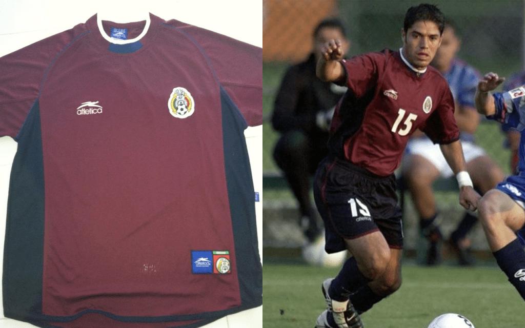 Playeras Mexico Mundial Seleccion Uniforme Corea 2002