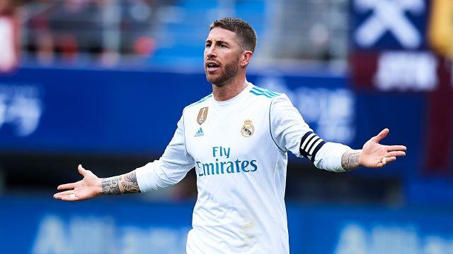 Sergio Ramos La Liga Real Madrid Baño Eibar 2