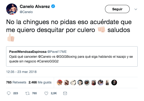 Suspenden Canelo Nevada