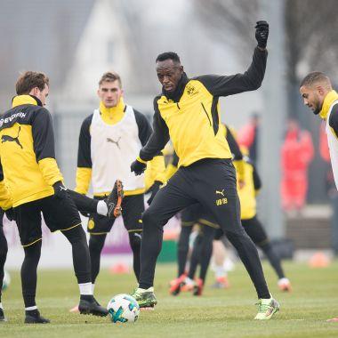 Usain Bolt Entrenamiento Borussia Dortmund Alemania Futbol