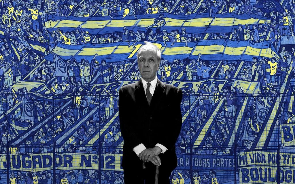 Jorge Luis Borges Boca Juniors