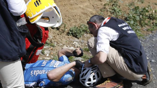 Ciclista Murio Paro Cardiaco Michael Goolaerts
