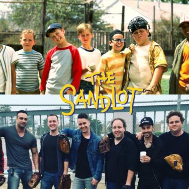 Nuestra Pandilla renunio 25 años Sandlot Beisbol pelicula aniversario