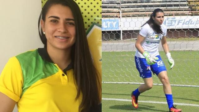 Daniela Solera portera convulsiona Futbol Colombia Huila Cúcuta