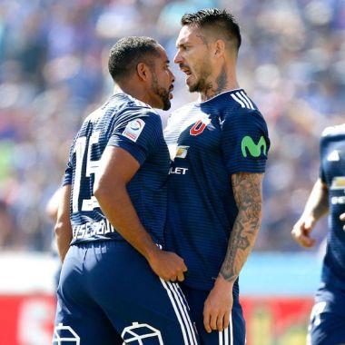 JeanBeausejour U de Chile Colo-Colo Mauricio Pinilla